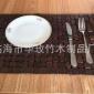 特价销售环保竹垫方形竹餐垫加工批发竹地垫