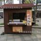 防腐木实木售货亭餐车 广场移动小木屋 景区售货屋批发