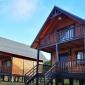 温馨舒适木屋 欧式楼梯两层一房一厅木屋 别墅坚固耐用定制