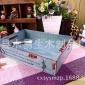 新款推荐 复古做旧桌面收纳木盒 杂物整理木盒  饰饰品木盒 定做