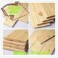 厂家现货实木板免漆桑拿板 樟子松护墙板 原木色桑拿扣板装shi