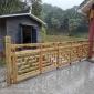 巴南綦江万盛南川景观廊架修建厂家 防腐木栏杆制作安装 景观木栈道栏杆施工