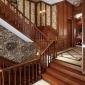 美式风格整木家装实木定制原木别墅复式楼整装楼梯