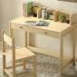实木儿童学习桌可升降桌椅套装松木学生课桌写字台