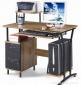 ST-S1258C家用台式电脑桌 带抽屉柜筒 带打印机 钢木办公环保书桌