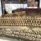 竹篱笆栅栏围栏户外花园菜园围栏新农村围栏室外竹子护栏院子围栏