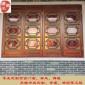 广州仿古门窗厂家中式满洲窗木雕实木花格彩色玻璃门窗茶楼寺庙
