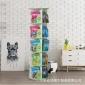 简易旋转书架置物架儿童绘本架落地家用经济型客厅小学生简约书柜