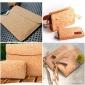 彩色软木布 鞋材、礼盒、生活用品包装tc低软木皮 可来样定制