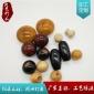 优质木珠本色木质圆球DIY珠子散珠饰品配件定制 实木圆球厂家定制