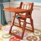实木儿童餐椅免安装婴儿餐椅宝宝座椅酒店用品bb凳支持一件代发货