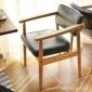 佳为北欧简约实木椅子新中式餐椅桌椅咖啡厅酒店椅子批发木凳