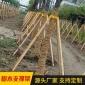 树木支撑架 园林绿化固定器 苗木支撑杆木轴木杆木棒厂家批发直销