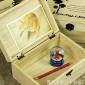 zakka杂货实木制包装礼品盒创意原木色 饰储物木盒多肉植物木盒